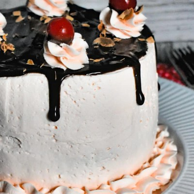 Chocolate Covered Cherry Cake