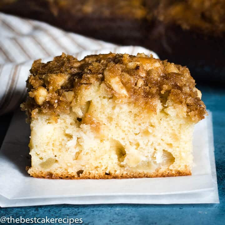 apple nut breakfast cake