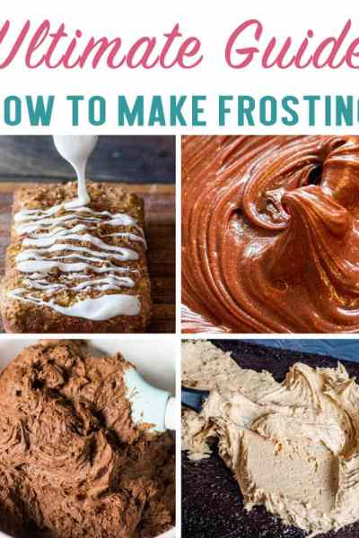 The Ultimate Guide for What Type of Frosting is Best. Buttercream frosting, powdered sugar glaze, ganache...we're showing you today what frosting to use for each type of cake!