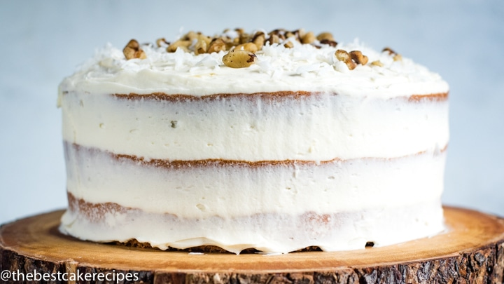 Black Walnut Cake Recipe Homemade Cake W Cream Cheese