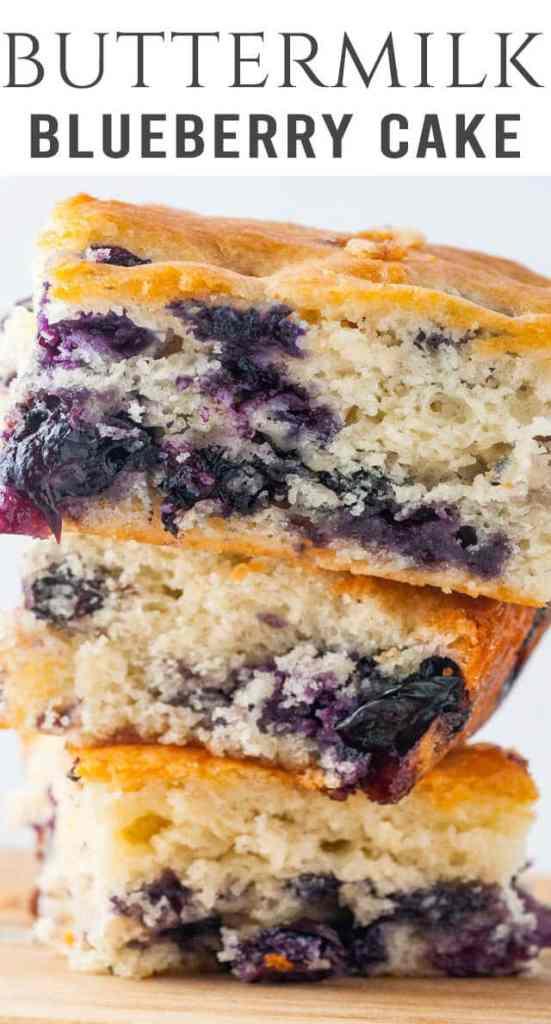 Buttermilk Blueberry Breakfast Cake title image