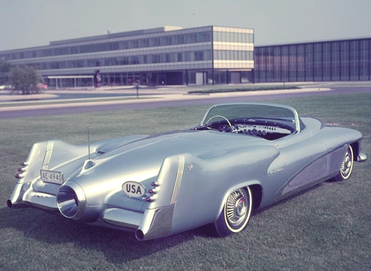 The 1951 Buick LaSabre concept car. - Photo Courtesy of General Motors