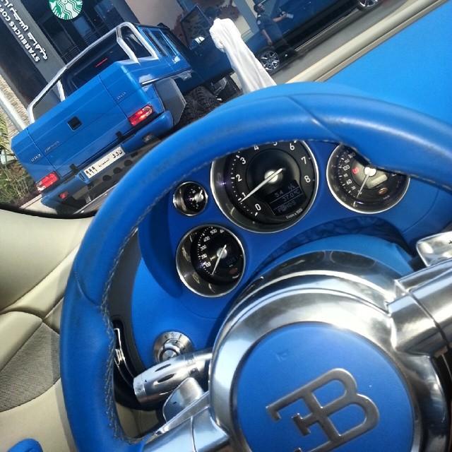 Sea Monster's friends - Bugatti!