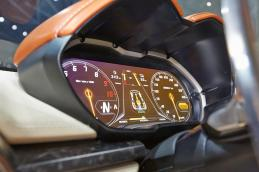 Lamborghini Asterion - the digital instrument cluster (at rest)