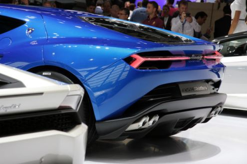 Lamborghini Asterion - what people following will see