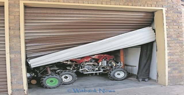 After poisoning the three dogs and cat, the suspects opened one of the garage doors where two bicycles and some equipment were stolen.