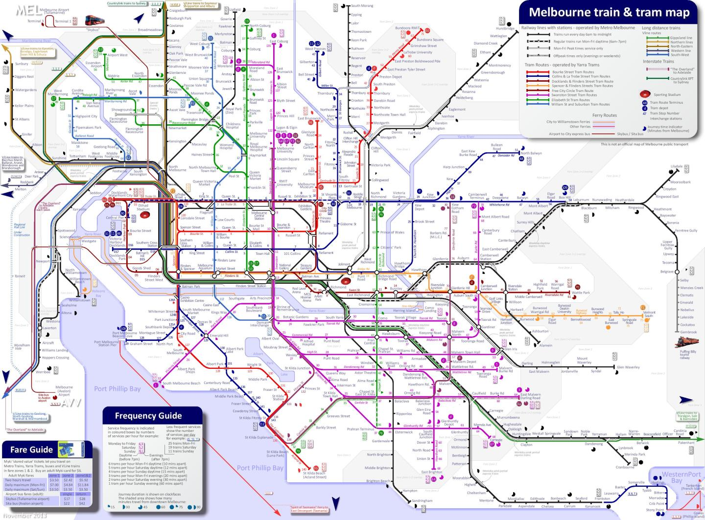 melbourne-train-and-tram-map