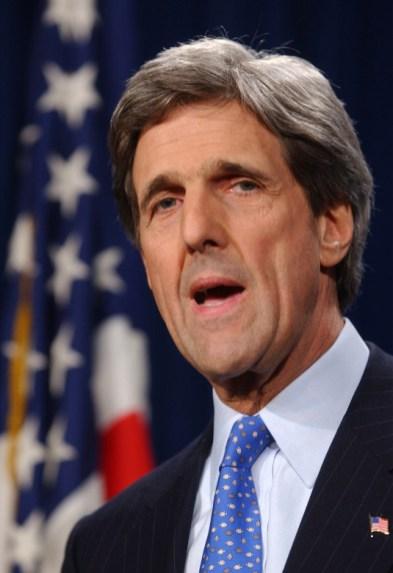 U.S. Sen. John F. Kerry.