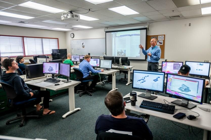 Lake Washington Institute of Technology - ENGT 271 CADE