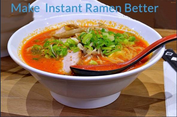 How to make instant ramen better