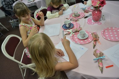 tea party activities
