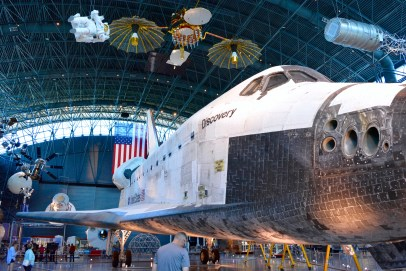 Fun things Udvar Hazy Discovery