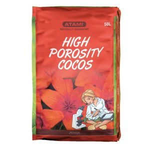 High Porosity Cocos 50 L Washed Steamed Aged Buffered Perlite +NPK