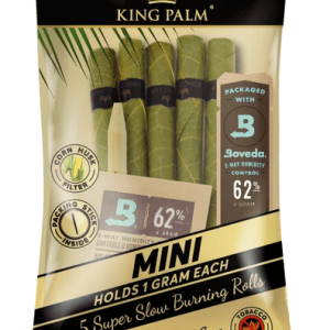 KING PALM – SIZE MINI – 5U PACK POUCH