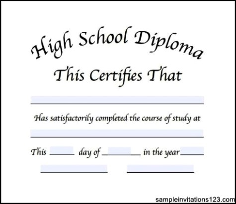 high school diploma certificate format the best home school guide