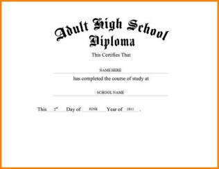 high school diploma template photoshop