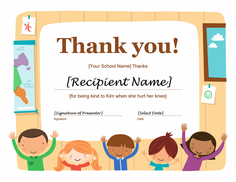 Thank you certificate free printable certificates yelopaper Image collections