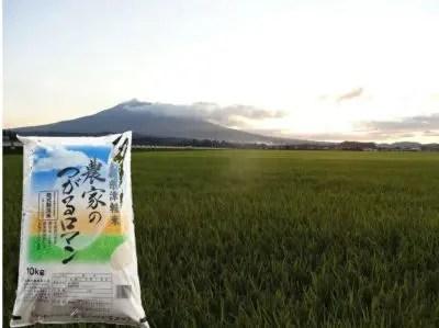 乾式無洗米つがるロマン10kg