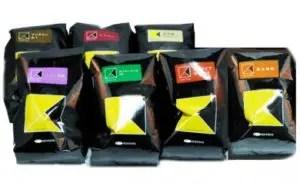 珈琲館コーヒー豆7種セット