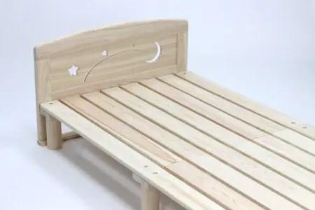 東濃ひのきを100%使用したベッド
