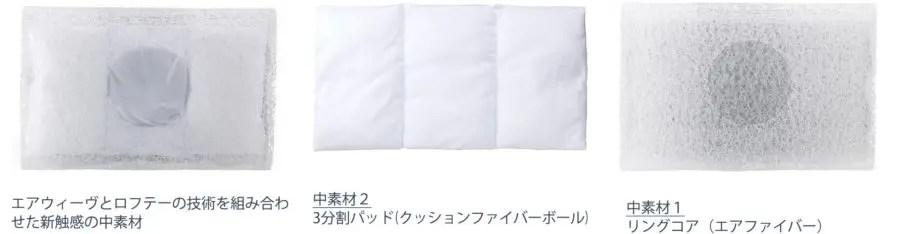 エアウィーブとロフテーの技術を結集したエアウィーブ最高級枕