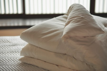 国産真綿100%の近江真綿布団正絹富士絹
