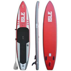 ISLE Airtech® 12'6 Inflatable Stand Up Paddle Board Review