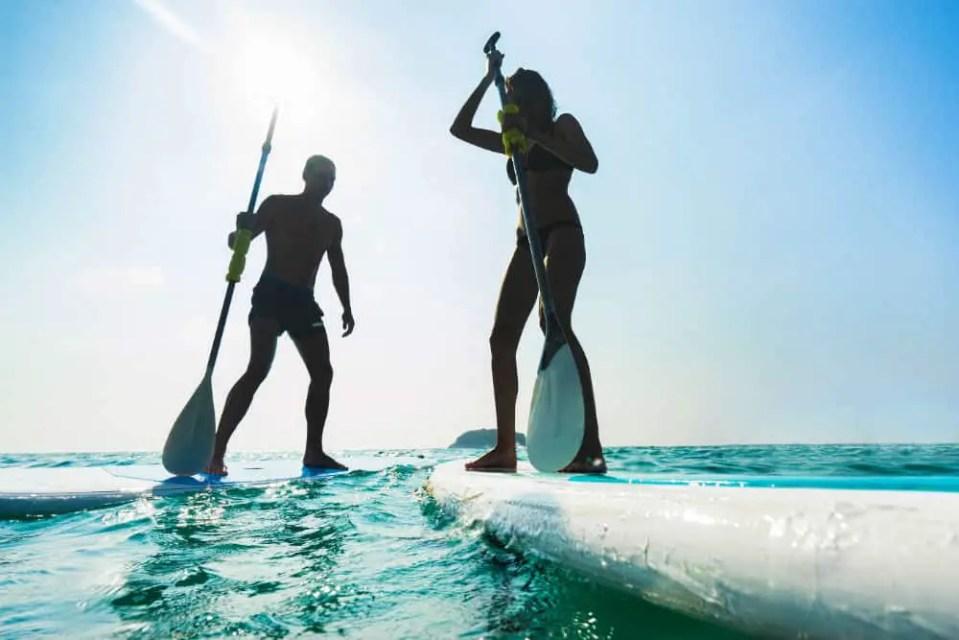 Stand-up Paddleboard vs Kayak