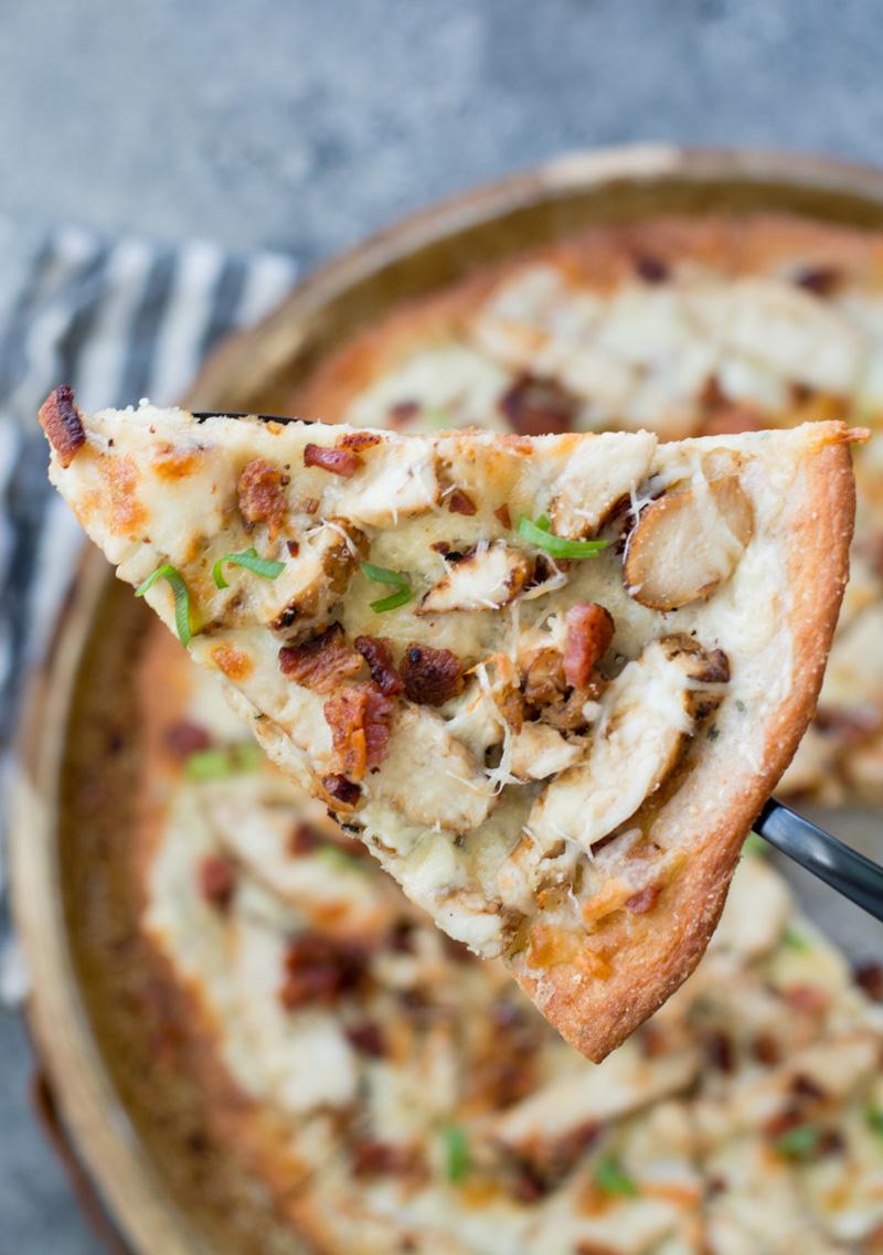 Keto Chicken Bacon Ranch Pizza The Best Keto Recipes
