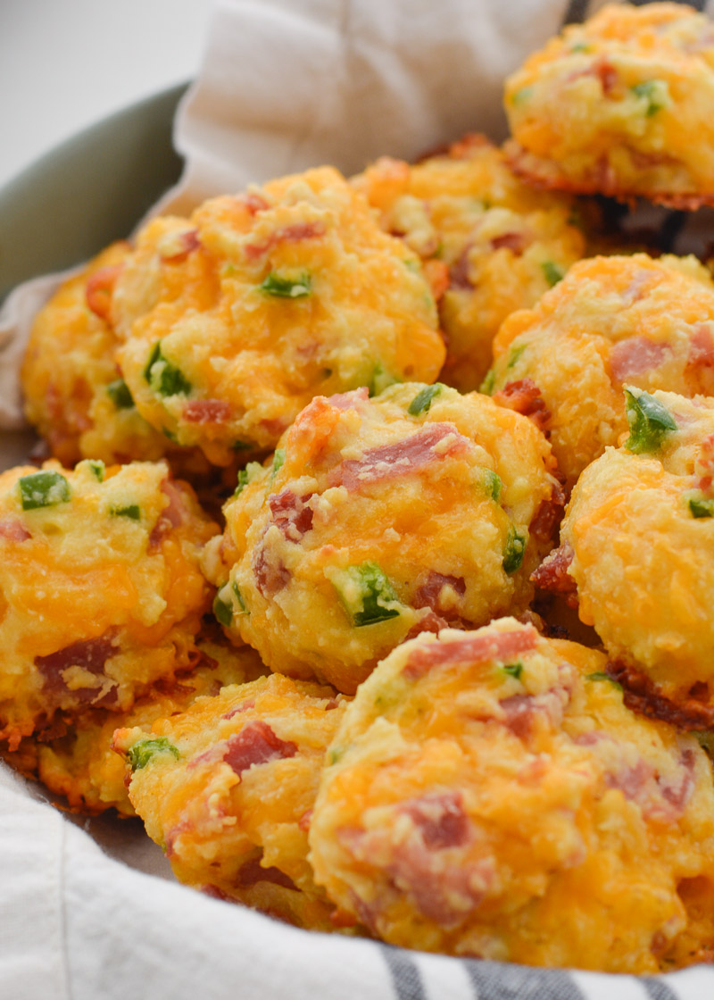Keto Ham, Cheddar and Jalapeno Bites   The Best Keto Recipes