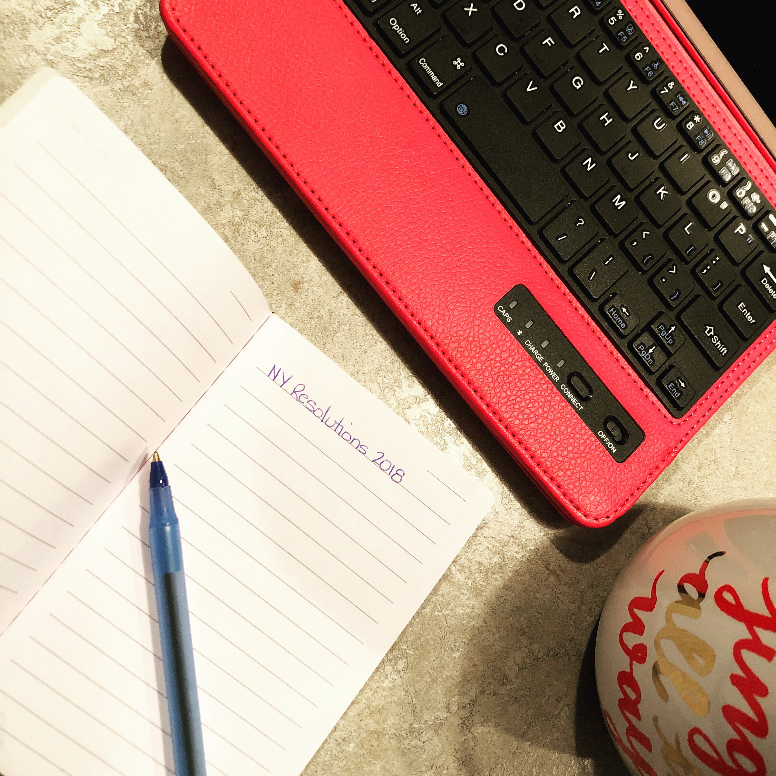 Creating Resolutions or Goal Planning for the New Year