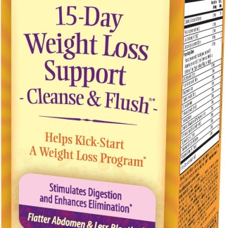 15-Day Cleanse & Flush by Nature's Secret| Reduces Bloating and Stimulates Digestion, Healthy Weight Management