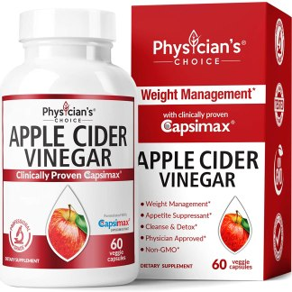 Apple Cider Vinegar Capsules for Weight Loss