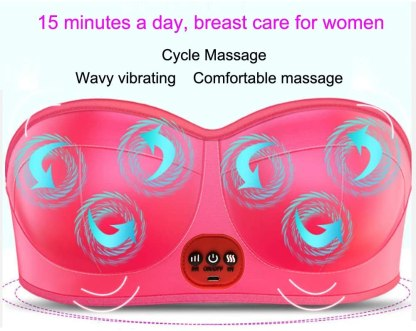 Hot Breast Massager - Electric Breast Massage Enhancer Breast Enlargement