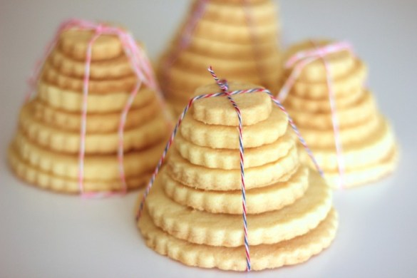 Christmas Shortbread Stacks