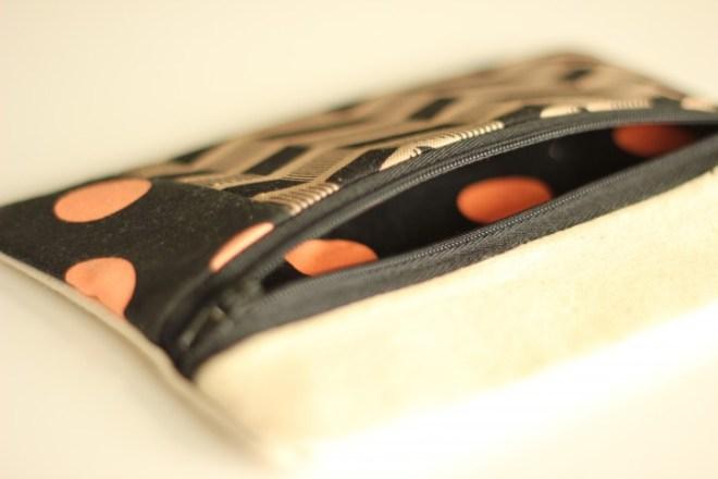 Zipped purse