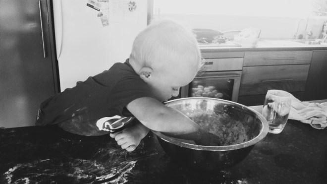 Toddler Baking New Zealand Mum Blogger