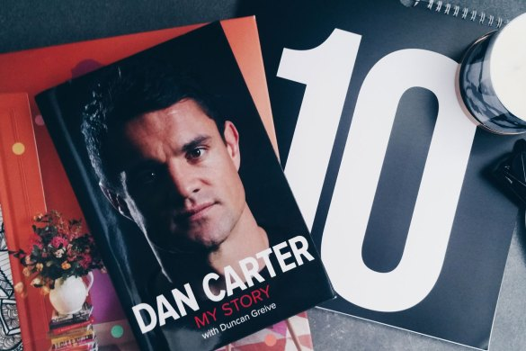 New Zealand's Top Mummy Blogger Blog Book Review Dan Carter