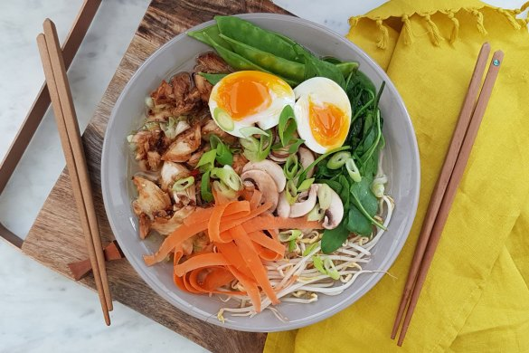 New Zealand's Top Mummy Blogger Parenting Travel Blog Family Ramen Bowl Recipe