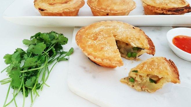New Zealand's Top Mummy Blogger Parenting Travel Blog Thai Chicken Pie Recipe