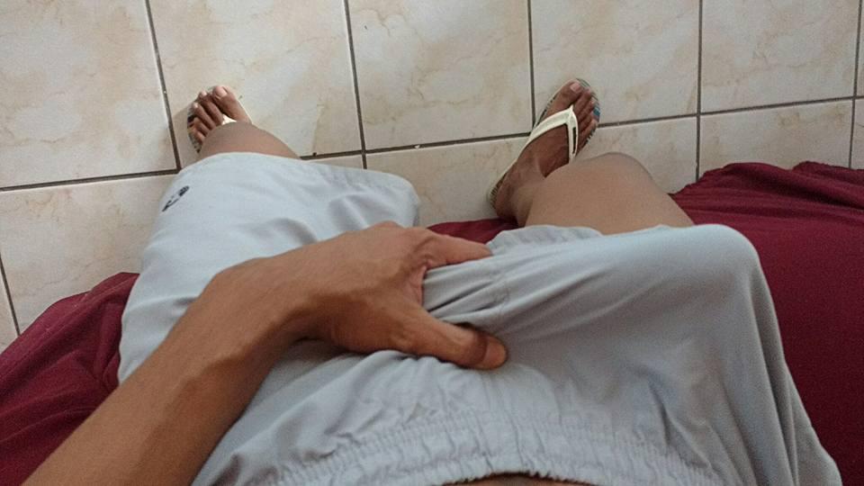 pau na mão
