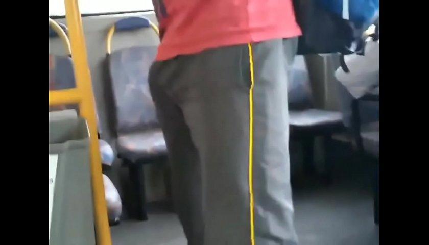 Armando a barraca no ônibus
