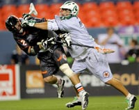 football + hockey = lacrosse