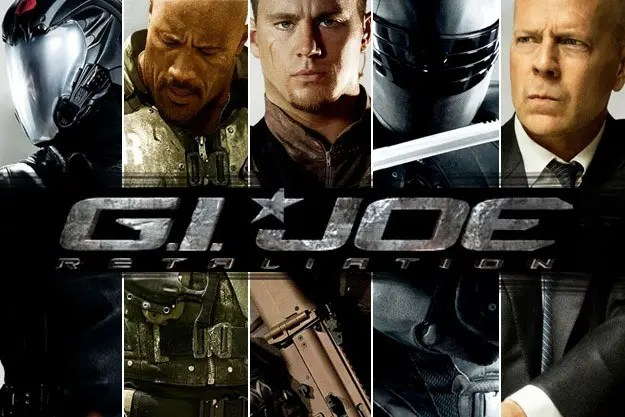 GI Joe Retaliation parkour movie