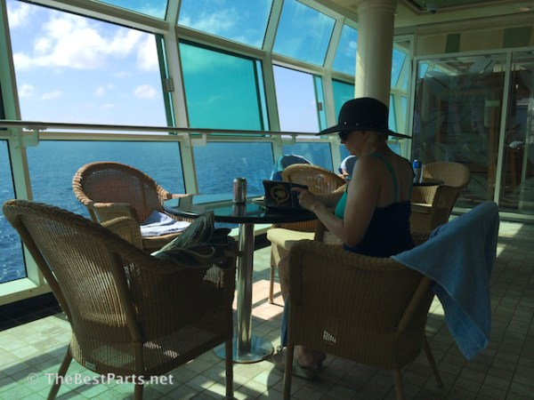 Freedom of the Seas Gail at sea