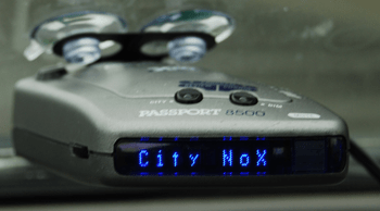 Working Radar Detector