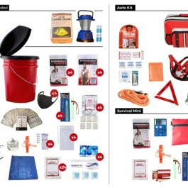 4 Person – 72 Hour Emergency Preparedness Kit Package
