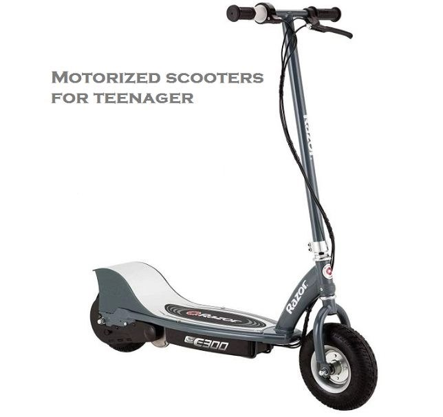 motorized scooters for teenager