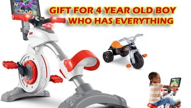 gift for 4 year old boy who has everything