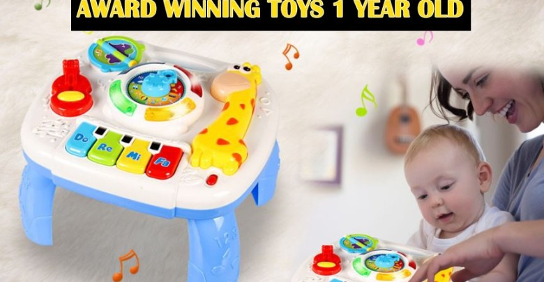 AWARD WINNING TOYS 1 YEAR OLD